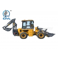 Quality Wz30-25 Backhoe Loader , Loader Bucket 1m3 , Dig Bucket 0.3m3 , Machine Weight 9500kgs for sale