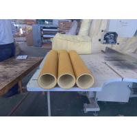 Quality Yellow 600 Degree High Temp Felt PBO Kevlar 5mm Used Inital Table for sale
