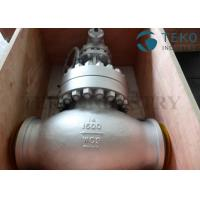 Buy cheap A216 WCB Carbon Steel Body Flanged End Globe Valve Plug Type Disc 150Lb~2500Lb from wholesalers
