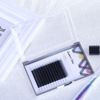 Quality Hand Made Individual Eyelash Extensions 0.05mm Y Shape Synthetic Hair Material for sale