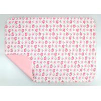 Quality Wipeable Non Toxic Baby Changing Pad Fold Up Changing Mat PE Waterproof Layer for sale