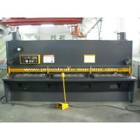 Quality Sheet Metal Guillotine Shear , Hand Operated Guillotine Cutter For Metal for sale