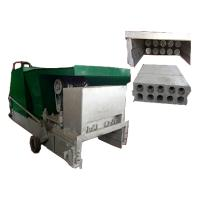 Quality lightweight green building precast concrete wall panel extruding machine for sale
