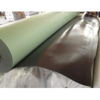 China Smooth geomembrane pvc waterstop roof waterproofing membrane on sale