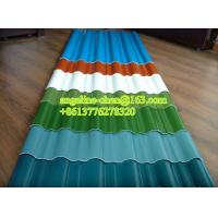 Quality 900-1130mm UPVC high strength corrugated round wave roof tile/sheet production line for sale