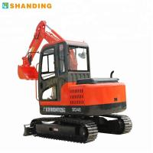 Quality SD40B Mini Hydraulic Crawler Excavator / Quick SHANDING Micro Excavator for sale