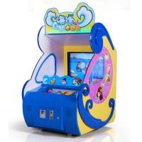Buy cheap Ocean Adventure Coin Operated Ball Throwing Screen Redemption Pitching Game from wholesalers