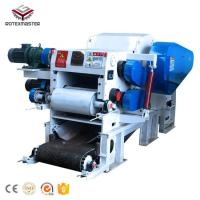 China Drum type wood chipping machine 8-15t/h capacity wood chips making machine on sale