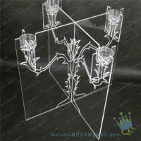 Quality CH (21) wholesale Acrylic candle holder for sale