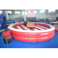 Buy cheap Inflatable Bull Riding Machine / Inflatable Mechanical Bull For Amusement Park from wholesalers