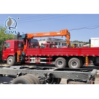Quality SINOTRUK Truck Mounted Crane  16Ton /16000KG  Knuckle Truck Crane for sale
