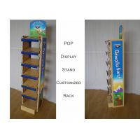 Buy cheap POP MDF Branded Display Stands With Metal Frame Graphic Sides Customize Size from wholesalers