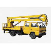 Buy cheap Durable 8.1m High Lifting Platform Truck Mounted Lift With 200kg Max from wholesalers
