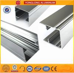 Quality 1.1 Thinckness Polished Aluminium Alloy Profile Surface Brightness for sale