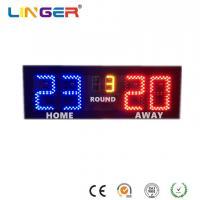 Buy cheap Badminton LED Electronic Scoreboard With 6 Inches Digits For Indoor Use from wholesalers