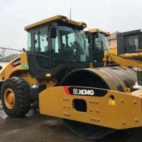 Quality Streamline Design Road Work Equipment / Excellent Powertrain Vibratory Plate Compactor for sale