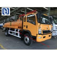 Quality Vacuum Sewer Cleaning Sewage Suction Truck SINOTRUK 4x2 10 - 12m3 for sale