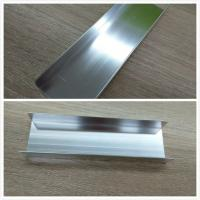 Quality Machanically Polished Aluminum Profiles , Highly Wear Resistance ,Silver , Brightness for sale