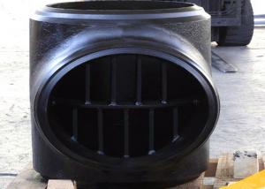 Quality Big Size 52 Inch Sch 120 Asme B Standard Barbed Reducing Tee High Pressure for sale