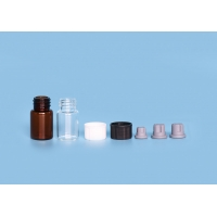 Quality Hot Stamping Borosilicate Screw 2ml 12mm Glass Sample Vials for sale