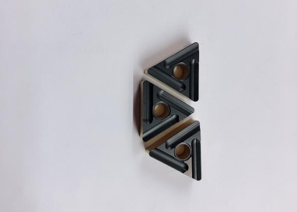 Buy High Hardness Cemented Carbide Inserts / Lathe Machine Thread Cutting Inserts at wholesale prices