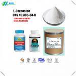 Quality CAS 305 84 0 Medicine Grade L Carnosine Powder Dipeptide With No Oder for sale