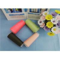 Quality Eco Friendly Custom Colourful 30s 40s 50s Dyed Polyester Yarn for Sewing Thread for sale