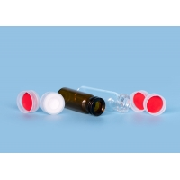 Quality Laboratory Capped Autosampler 11mm Glass Sample Vials for sale