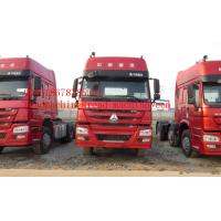 Quality Howo A7 420 Hp Prime Mover Truck with High cabin of two sleepers and air conditioner for sale