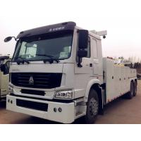 Quality Lifting  25 T 6 x 4  Heavy Wrecker Tow Truck With  339 HP Cummins Engine for sale