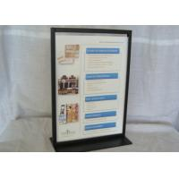 Buy cheap Easy Portability A4 Table Display Stands , Durable Metal Tabletop Display Stands from wholesalers