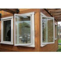 Quality Energy Saving Thermal Break Aluminum Casement Windows with Double Glazing Glass for sale