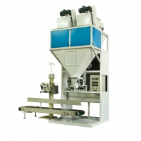 Quality 500-600Bags/Hour Spiral Feeding rice fertilizer Packing Machine for sale