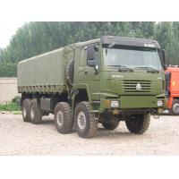 Quality Military 8 x 8 290 / 371 / 336 /420hp Heavy Cargo Trucks With EURO III Emission Standard for sale