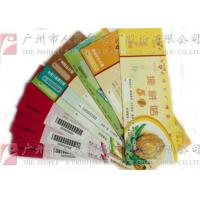 Quality Double Sided Secure Ticket Printing Highly Durable Create A Professional Image for sale