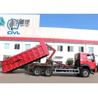 Quality 20M3 40T Load Capacity Garbage Compactor Truck  Hook Arm Rear Lift Garbage Truck 6x4 New Truck for sale
