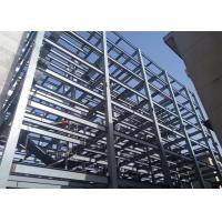 Quality Steel Structure Prefabricated Warehouse Buildings , Ecuador Steel Frame Fabrication for sale