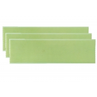 Quality Green Plastic Beeswax Foundation Sheet for Beekeepers for sale