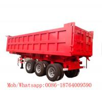 Quality Sinotruk 6X4 Heavy Duty Drum Truck , 10 Wheel Dump Truck 30T Red Color for sale
