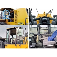 Quality XCMG Front End 5 Ton Compact Wheel Loader With Cummins Engine EuroIII ZL50GN for sale