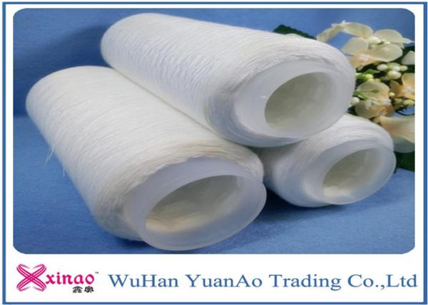 Buy Sewing Spun Polyester Thread / High Tenacity polyester  Yarn On Plastic or Paper Cone at wholesale prices