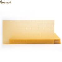 Quality 100% Natural Pure Natural Beeswax Foundation Sheet For Beekeeping for sale