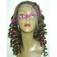 Quality 100% Virgin Remy Hair Full Lace Wig for sale