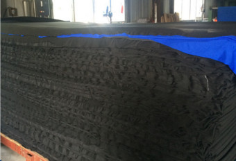 Buy Thin Elastic CR Neoprene Rubber Sheets Lamination Heat Preservation at wholesale prices