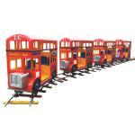Quality Amusement equipment indoor small train square track small train luxury train Children's  track small train for sale