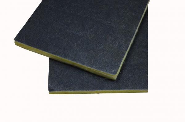 Buy Acoustic Insulation Glass Wool Board , Fiberglass Air Conditioning Duct Board at wholesale prices