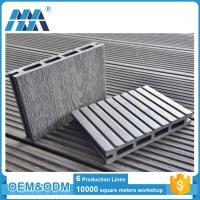 Quality Eco-friendly High Quality Interlocking outdoor deck tiles WPC DIY Flooring for sale