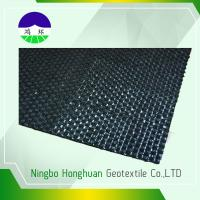 Quality 140kn / 98kn Woven Geotextile Fabric ,  Road Construction Geotextile Driveway Fabric for sale