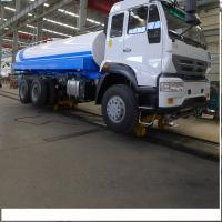 Quality Sinotruk Howo 290hp Water Tanker Trucks / Howo 6x4 Water Container Truck for sale