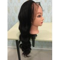 Quality new 360 lace wigs with hair in the middle density 180% 150% 360 lace wigs 4 clips adjustable strips body wave for sale